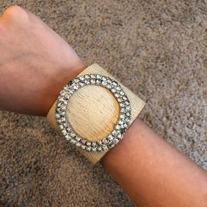 Accessories - Vintage Leather Cuff Bracelet